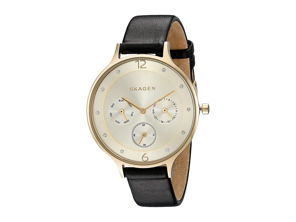 Skagen Anita SKW2393 Gold/Black Watches