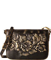 Patricia Nash - Metallic Rose Tooled Navano Crossbody