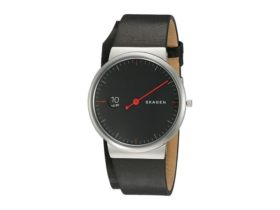 Skagen Ancher SKW6236 Black/Red Watches