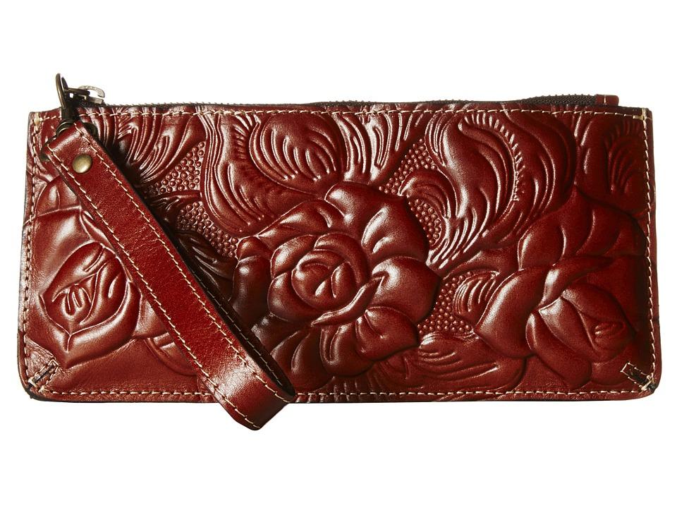 Patricia Nash - Rose Tooled St. Croce Wristlet (Florence) Wristlet Handbags