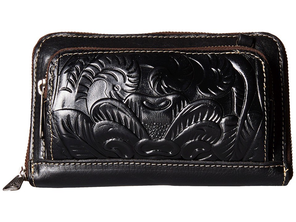 Patricia Nash - Andria Tooled (Black) Cross Body Handbags