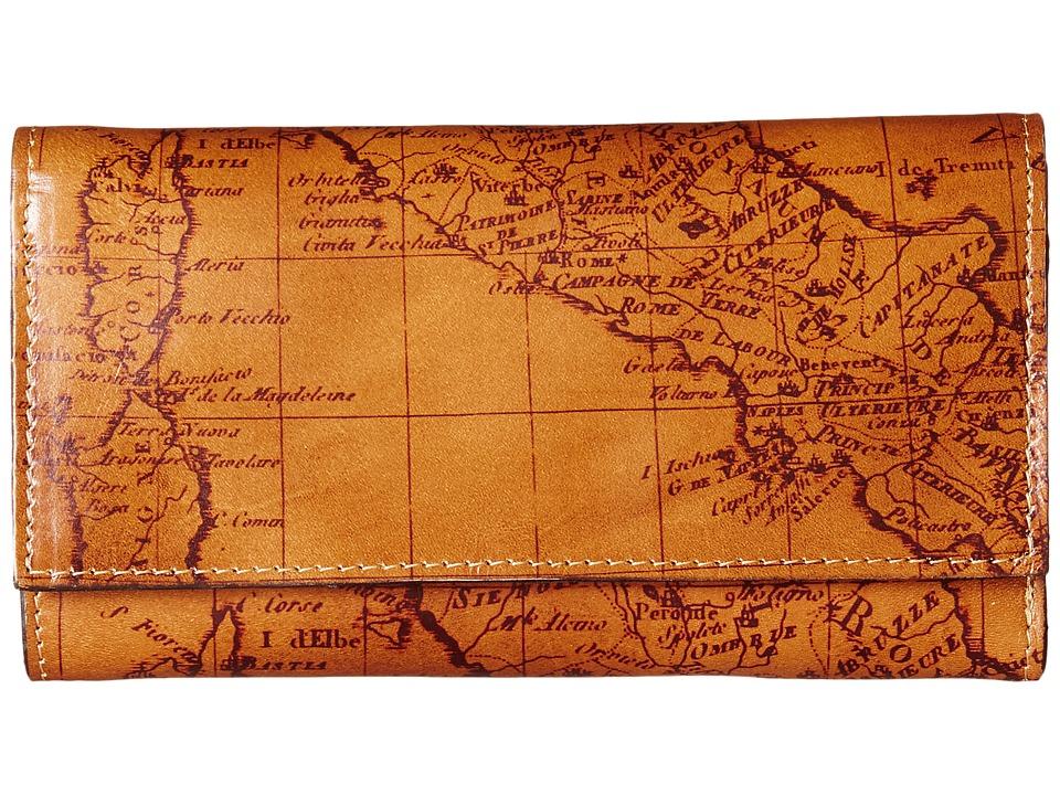 Patricia Nash - Signature Map Terresa Wallet (Riot Rust) Wallet Handbags