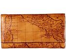 Patricia Nash Signature Map Terresa Wallet (Riot Rust)
