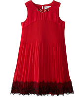 Us Angels - Sleeveless Empire w/ Pleated Skirt & Lace (Big Kids)
