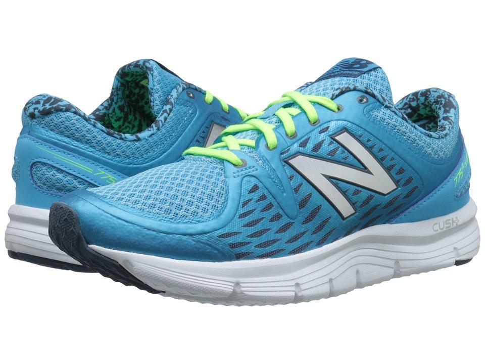 New Balance - W775v2 (Blue/White) Womens Shoes