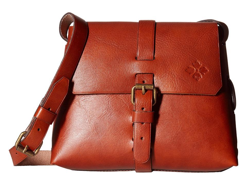 Patricia Nash - Frattini Strapped Satchel (Tan) Cross Body Handbags