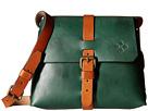 Patricia Nash Oil Rub Frattini Strapped Satchel (Antique Green)