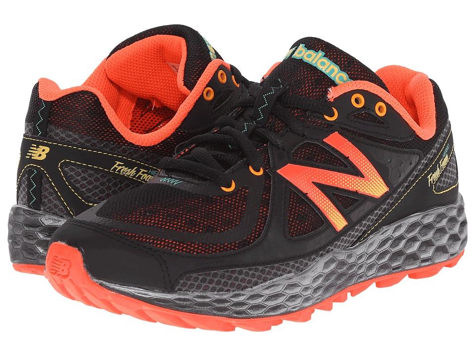 New Balance - Fresh Foam Hierro (Black/Orange) Womens Running Shoes