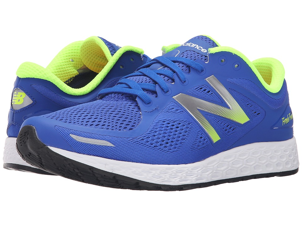 New Balance Fresh Foam Zante V2 Blue/Green Mens Running Shoes