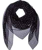 The Kooples - Poker Printed Ilk Chiffon Scarf