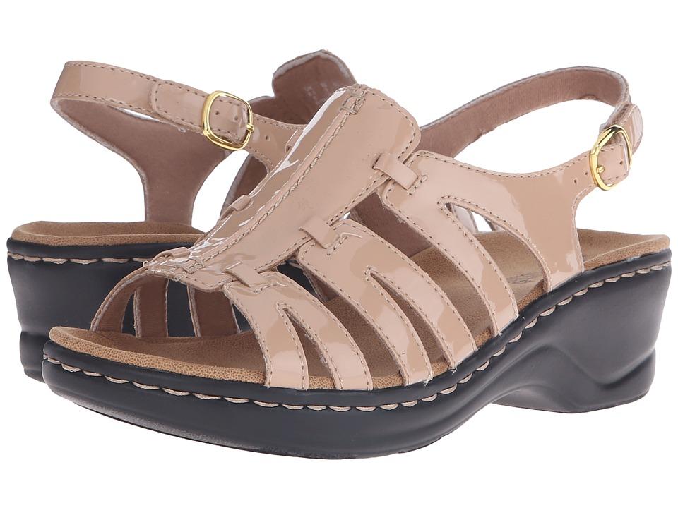 Clarks Lexi Marigold Q (Nude Patent) Sandals