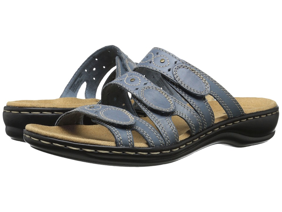 Clarks Leisa Cacti Q (Captian Blue) Sandals