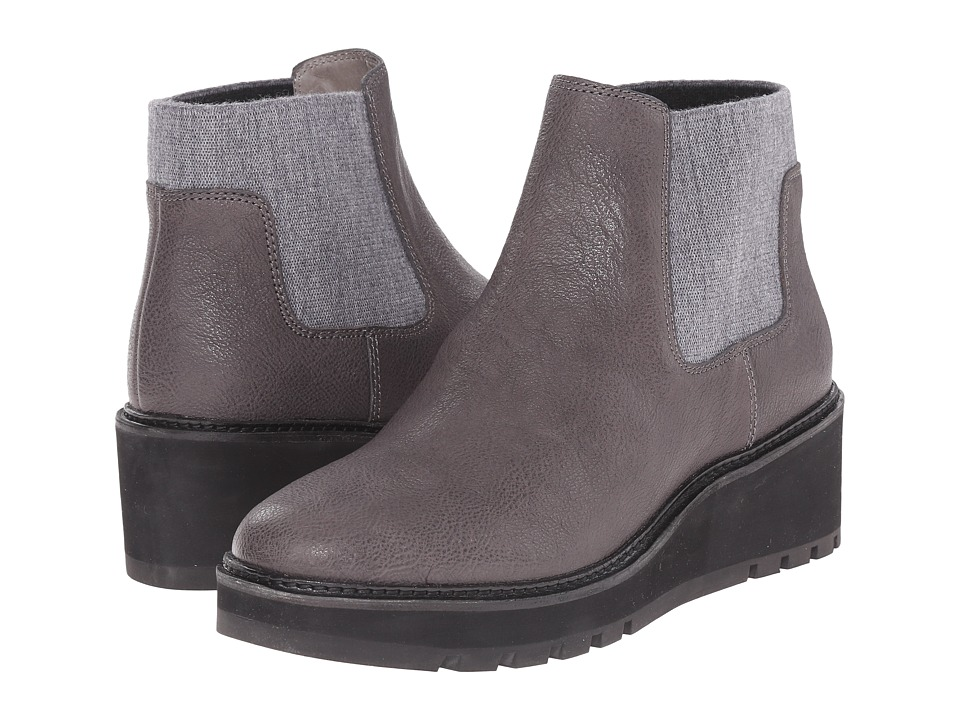 Eileen Fisher Chelsea Twilight Matte Washed Leather Womens Pull on Boots