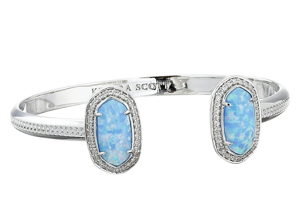 Kendra Scott Erica Bracelet Rhodium/Ice Blue Kyocera Opa Bracelet