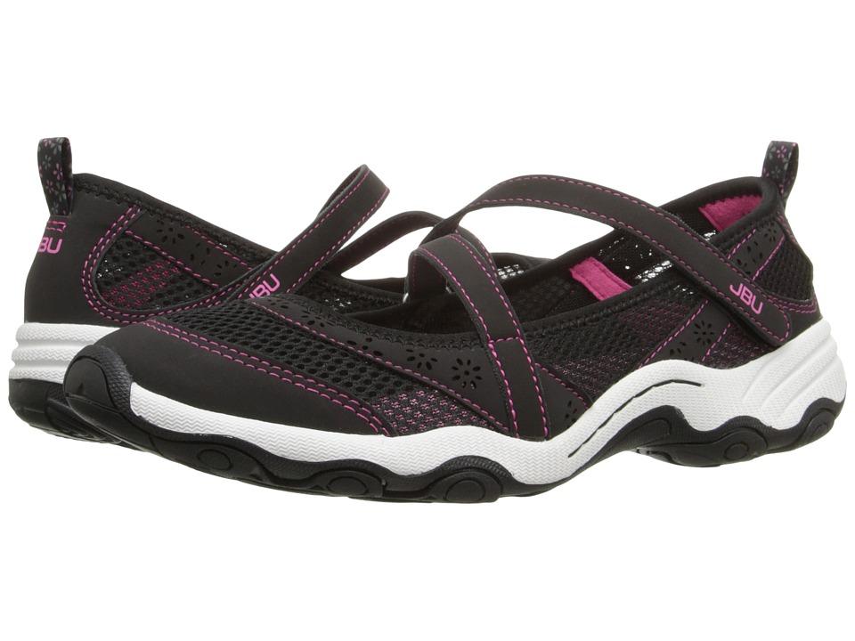 JBU Belle Black Womens Slip on Shoes