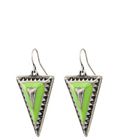 Gypsy SOULE - Tribal Triangle Drop Earrings