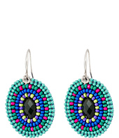 Gypsy SOULE - Seed Bead Oval Drop Earrings