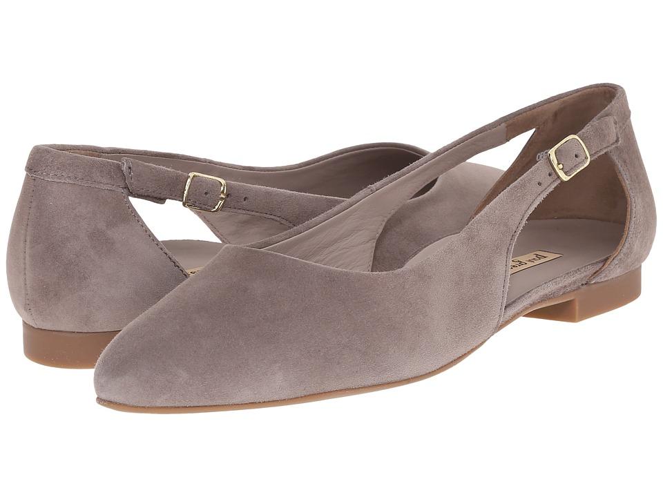 Paul Green Beckett Truffle Suede Womens Flat Shoes