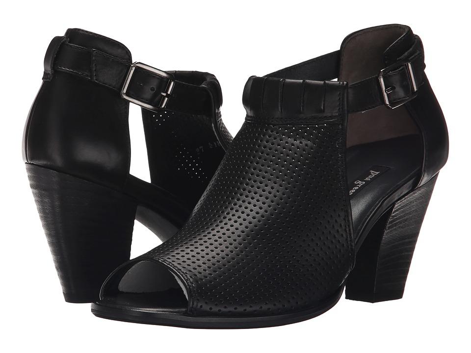 Paul Green Collen (Black Leather) High Heels