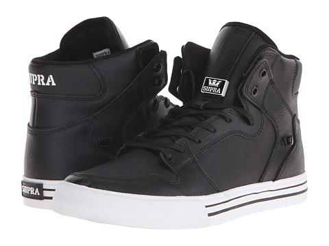 Supra Vaider - Black/White/Leather