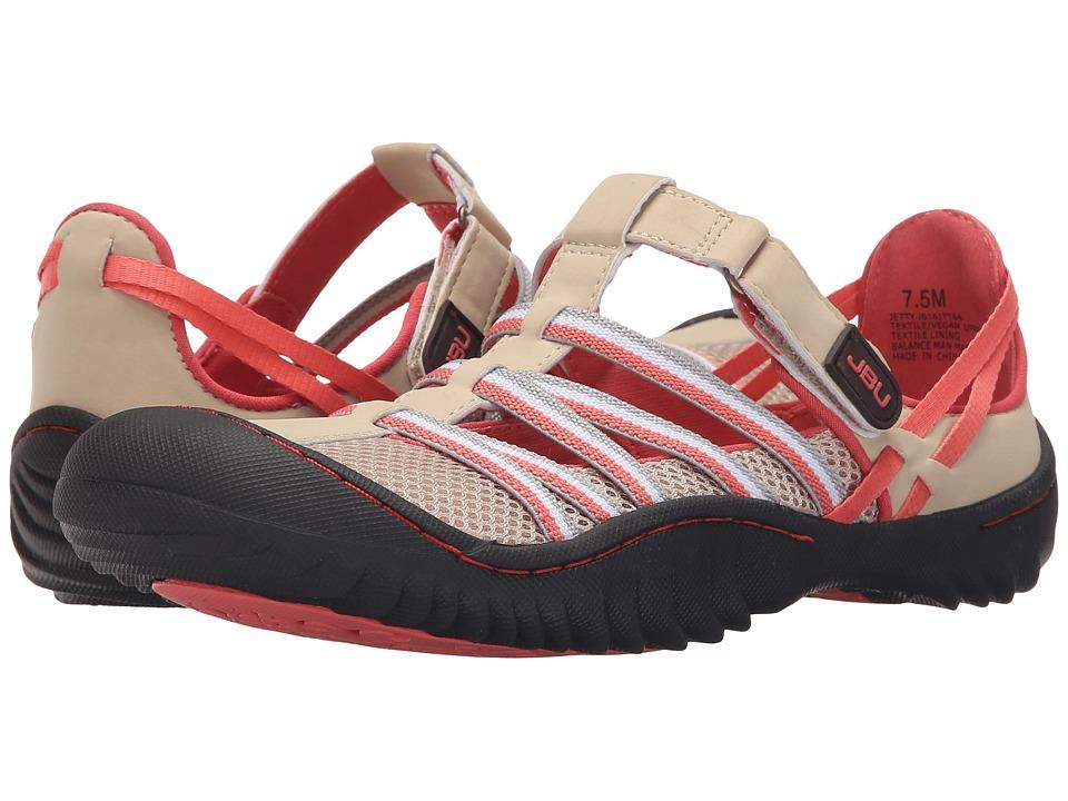 JBU Jetty Sand/Peach Womens Slip on Shoes