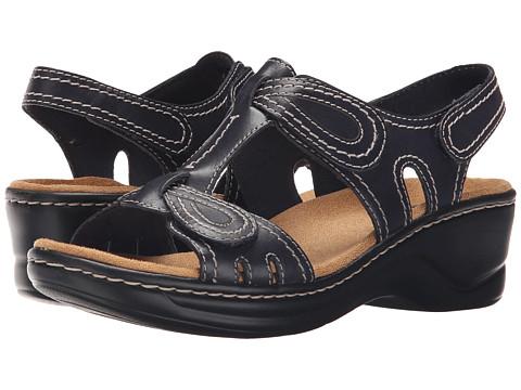Clarks Lexi Walnut Q - Navy Leather