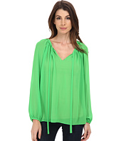 Vince Camuto - Long Sleeve Peasant Blouse
