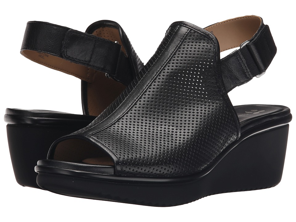 Naturalizer Ardel Black Womens Wedge Shoes