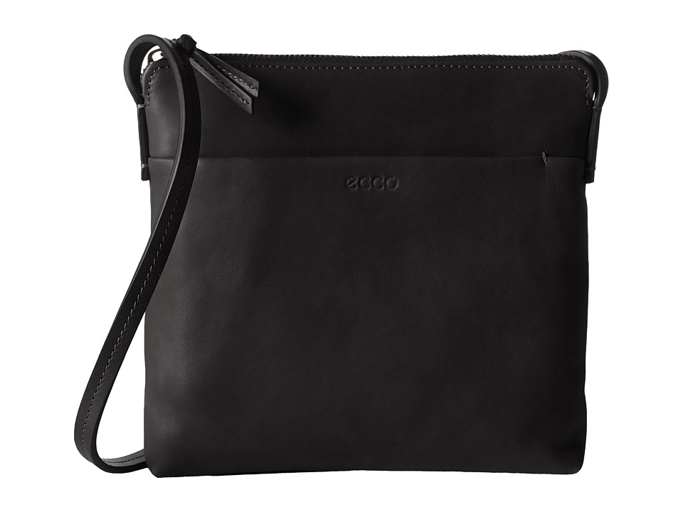 ECCO - Handa Crossbody (Black) Cross Body Handbags