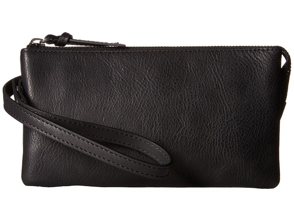 ECCO - Handa Clutch Wallet (Black) Wallet Handbags
