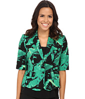Vince Camuto - 3/4 Sleeve Island Palm Jacket