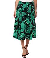 Vince Camuto - Island Palm Midi Skirt