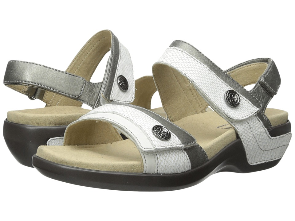 Aravon Katherine-AR (White Multi) Sandals