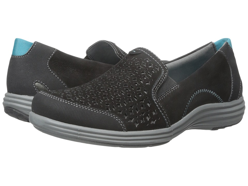 Aravon Bonnie-AR (Black) Slip-On Shoes