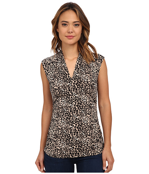 Sleeveless Leopard Top by Vince Camuto