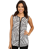 Vince Camuto - Sleeveless Linear Landscape Top