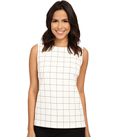 Vince Camuto - Sleeveless Back Zip Window Top