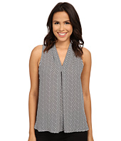 Vince Camuto - Sleeveless Herringbone Top