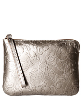 Patricia Nash - Metallic Folklore Tooled Cassini Wristlet