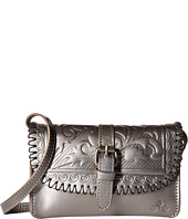 Patricia Nash - Metallic Folklore Tooled Torri Crossbody