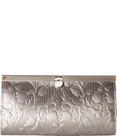 Patricia Nash - Metallic Folklore Tooled Cauchy Wallet