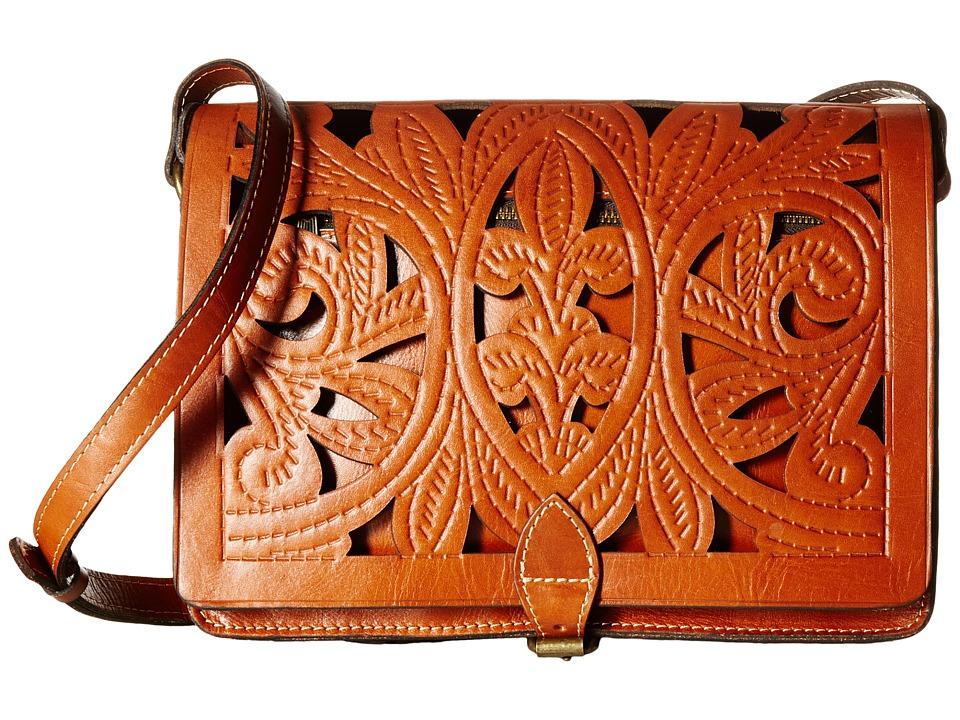 Patricia Nash - Cutout Tooled Imperialli Crossbody (Florence) Cross Body Handbags