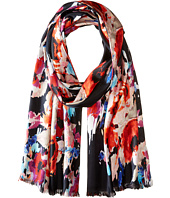 Kate Spade New York - Blurry Floral Oblong Scarf