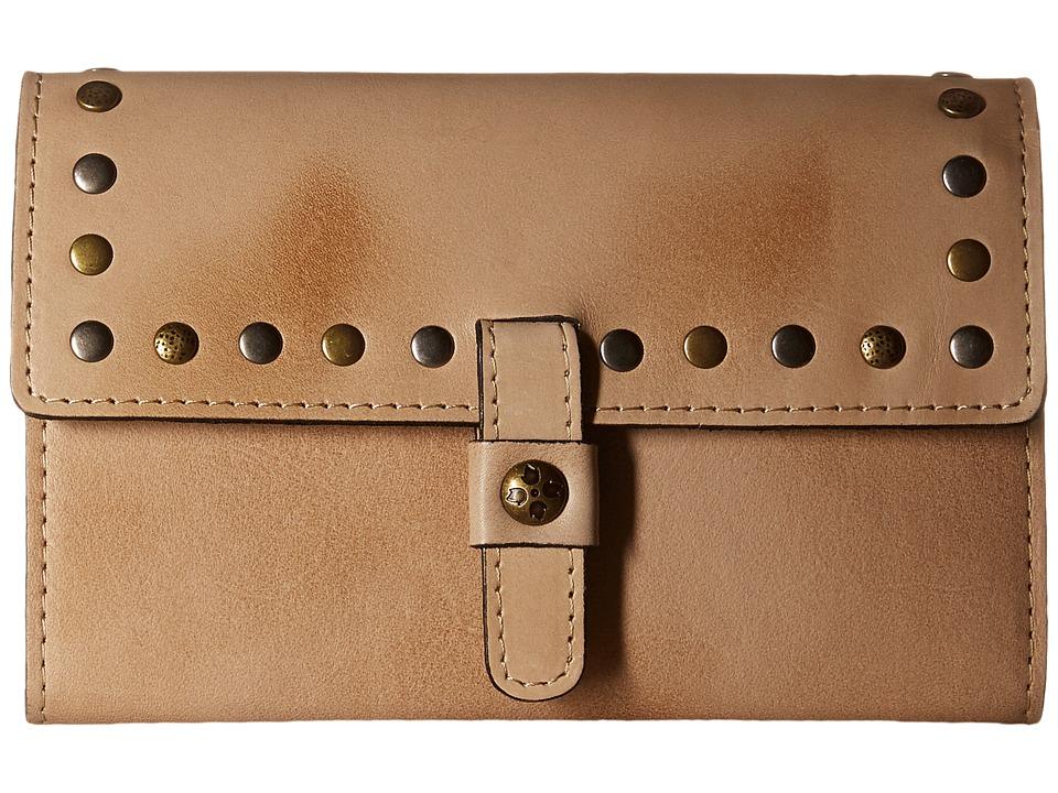 Patricia Nash Colli Flap Wallet Sand Wallet Handbags