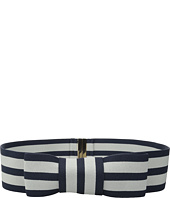 Kate Spade New York - Stretch Stripe Bow Belt
