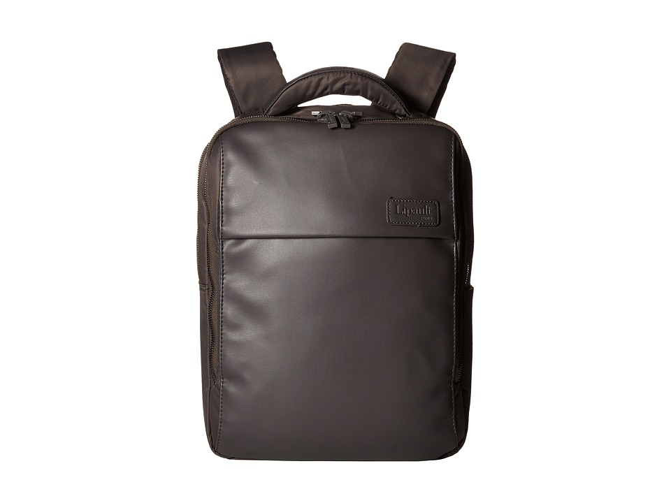 Lipault Paris - Premium Collection - 13 Computer Backpack (Grey) Backpack Bags