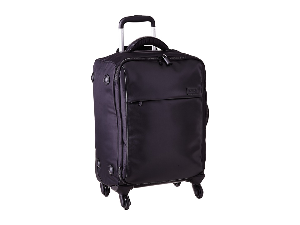 Lipault Paris Premium Collection 4 Wheeled 22 Carry On Black Carry on Luggage