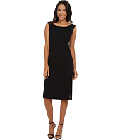Maggy London - Crepe Scuba Sheath with Contrast Lining