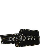The Kooples - Suede Leather and Studs Belt