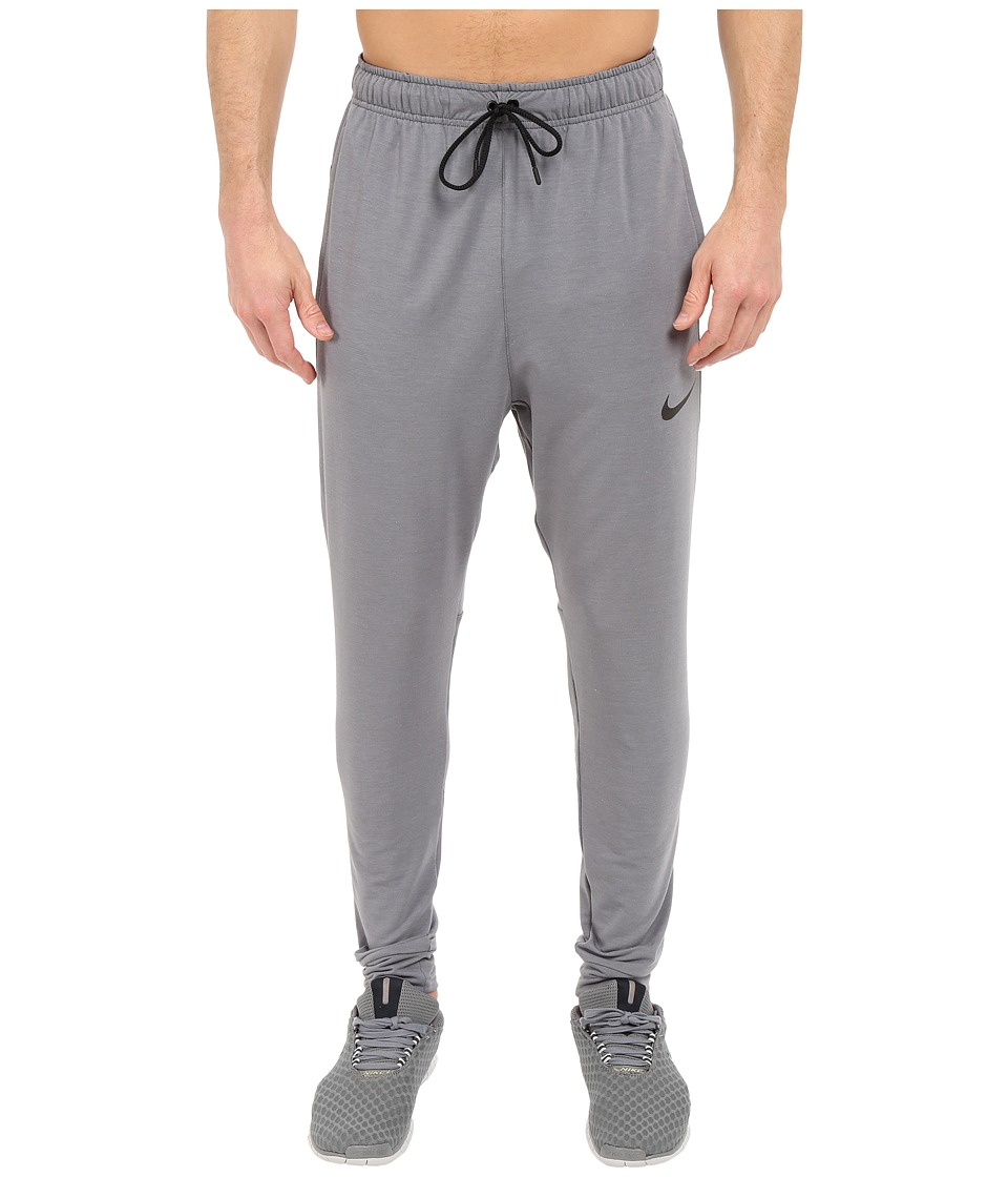 Nike Dri-FITtm Fleece Training Pant (Cool Grey/Black/Black) Men